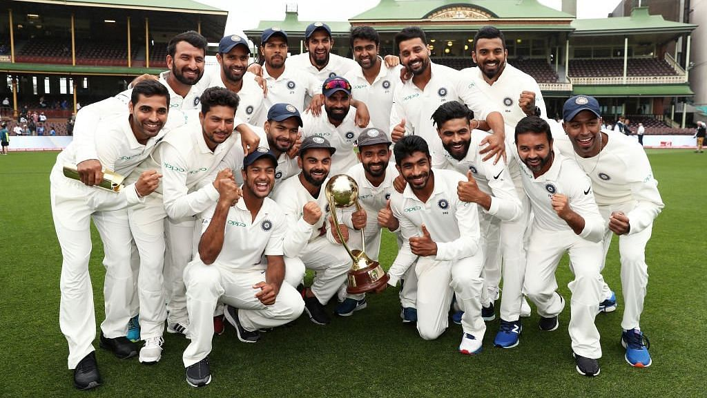 India had beaten Australia 3-1 in a Test series in Australia for the first time in 2018.