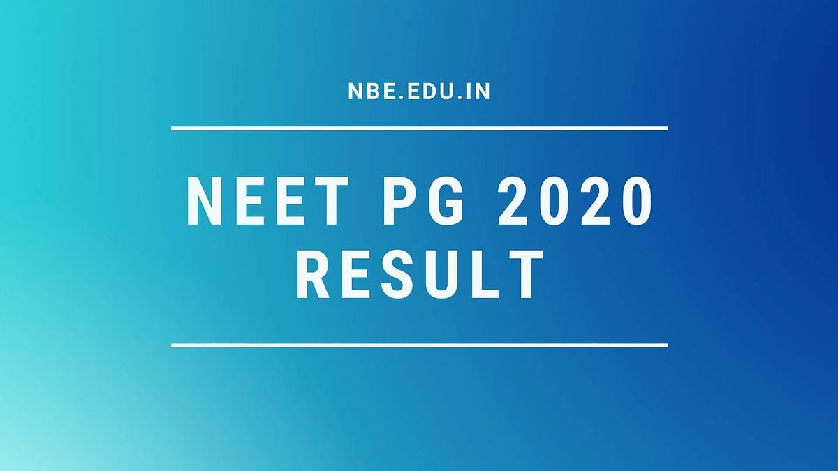 NEET PG 2020 Result and Ranking Declared By NBE — natboard.edu.in