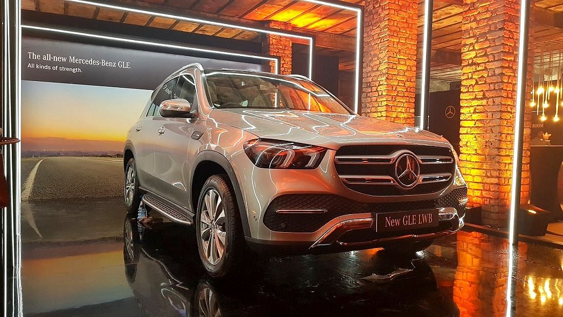 The Mercedes GLE 300D is priced at Rs 73.70 lakh ex-showroom.