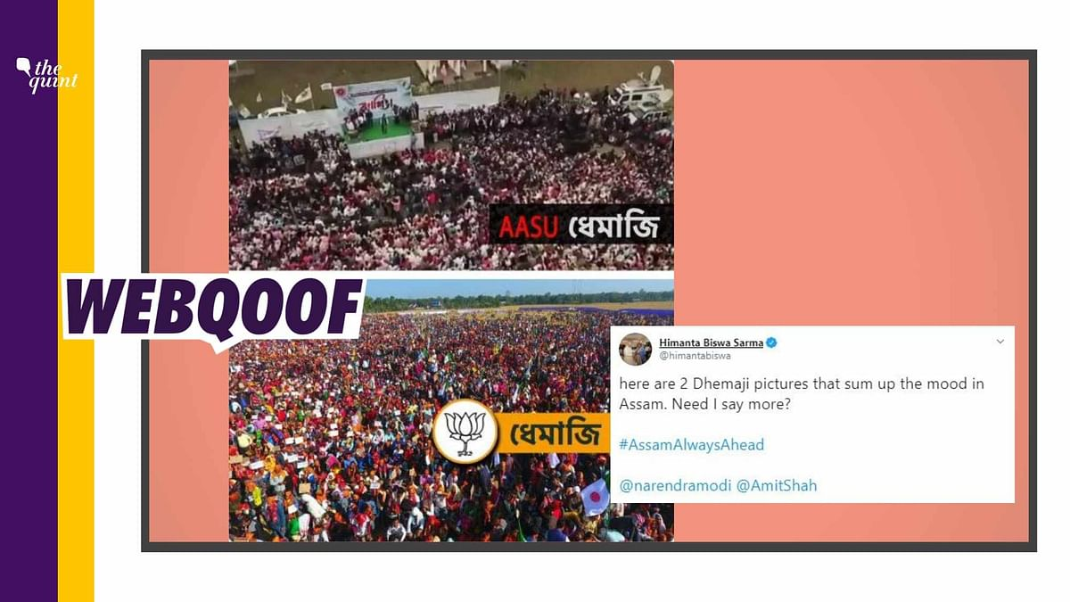 Assam FM Tweets Edited Pic of CAA Rally, Suggests State is Pro-Law
