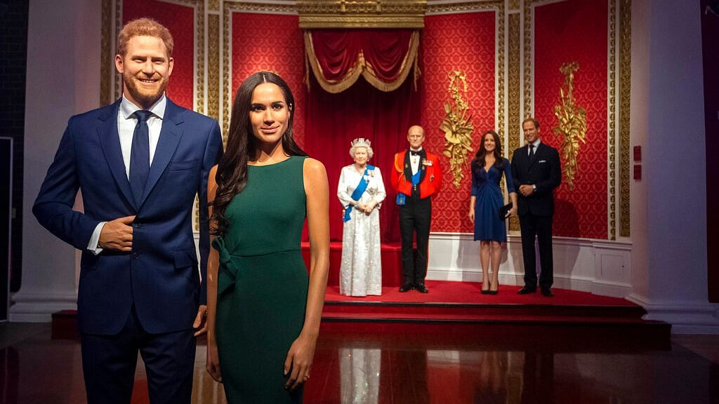 Madame Tussauds Removes Harry & Meghan From Royal Family Display