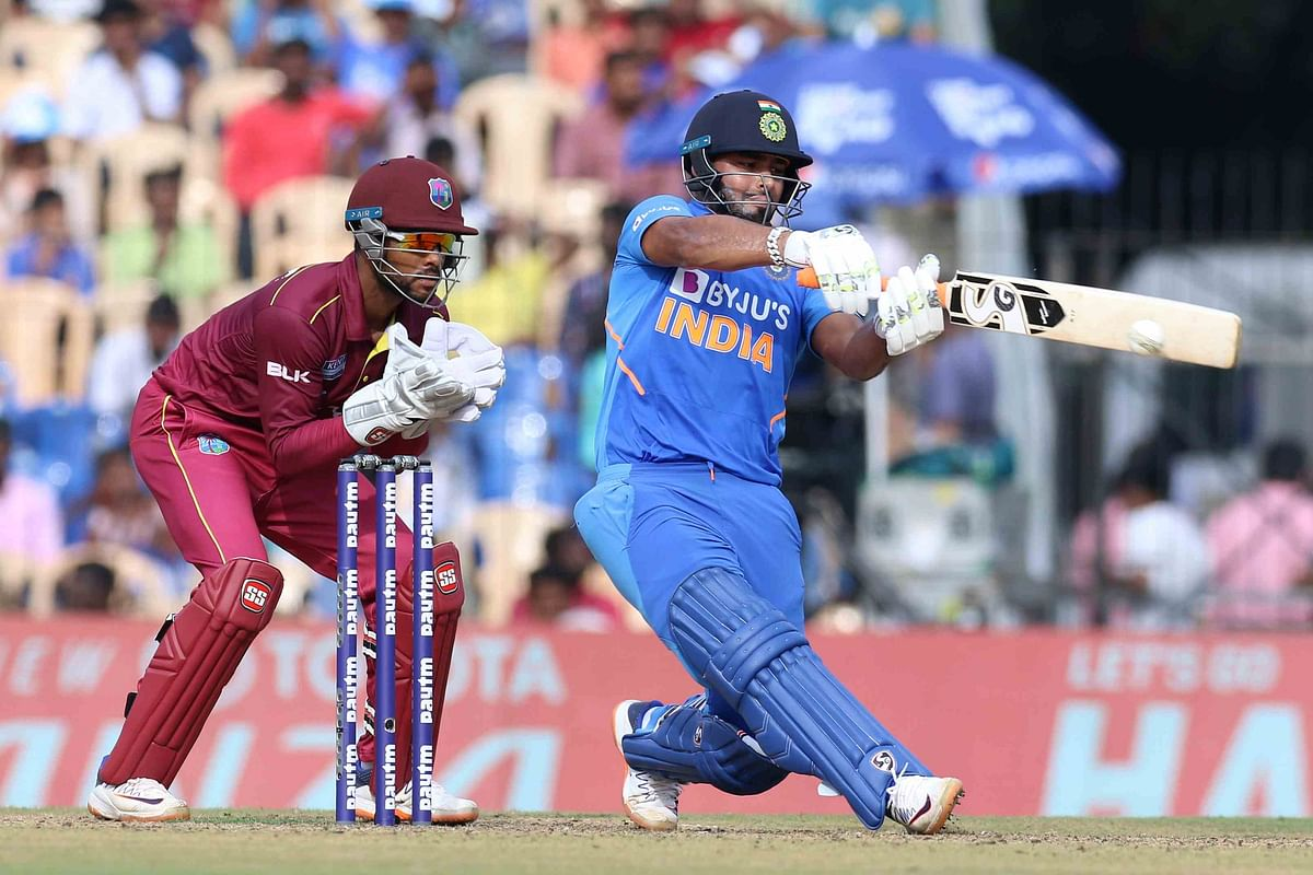 Rishabh Pant has scored just two half-centuries in 27 T20I matches so far.