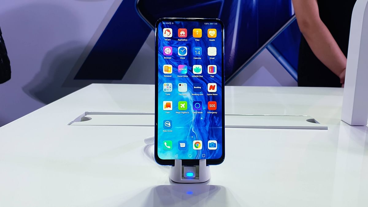 The Honor 9x comes with a 6.59-inch display.
