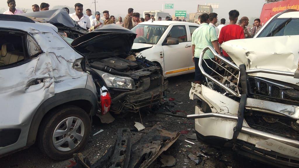 10 Vehicles Collide as Chennai Air Quality Dips Sharply on Bhogi