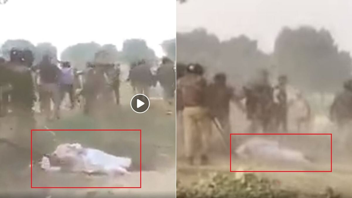 Old Video of Unnao Farmers' Protest Shared With an Unrelated Claim