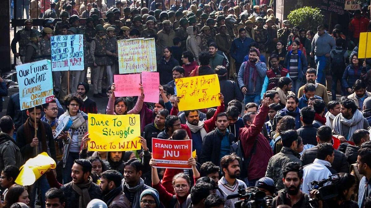 Agitated JNU Students, Teachers Do Not Want Discipline: Chancellor