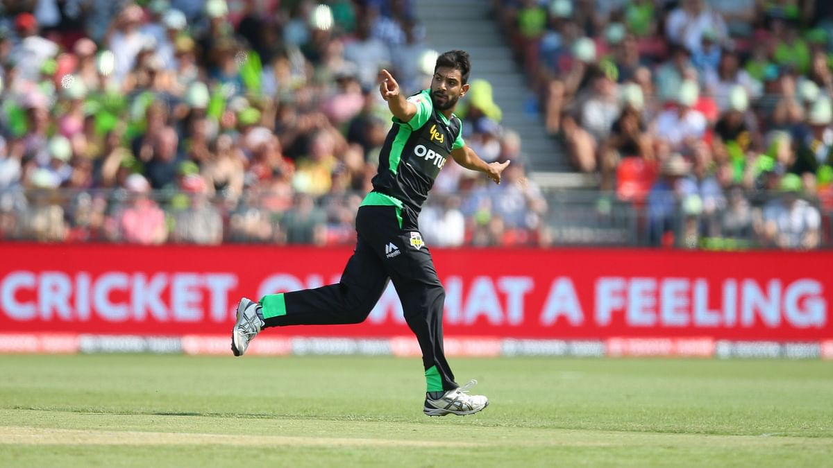 Pakistani pacer Haris Rauf drew flak on Thursday, 2 January for his aggressive celebration after taking a wicket while playing for Melbourne Stars in the ongoing Big Bash League (BBL) in Australia.