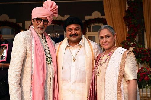Big B and Jaya with Prabhu Ganesan.
