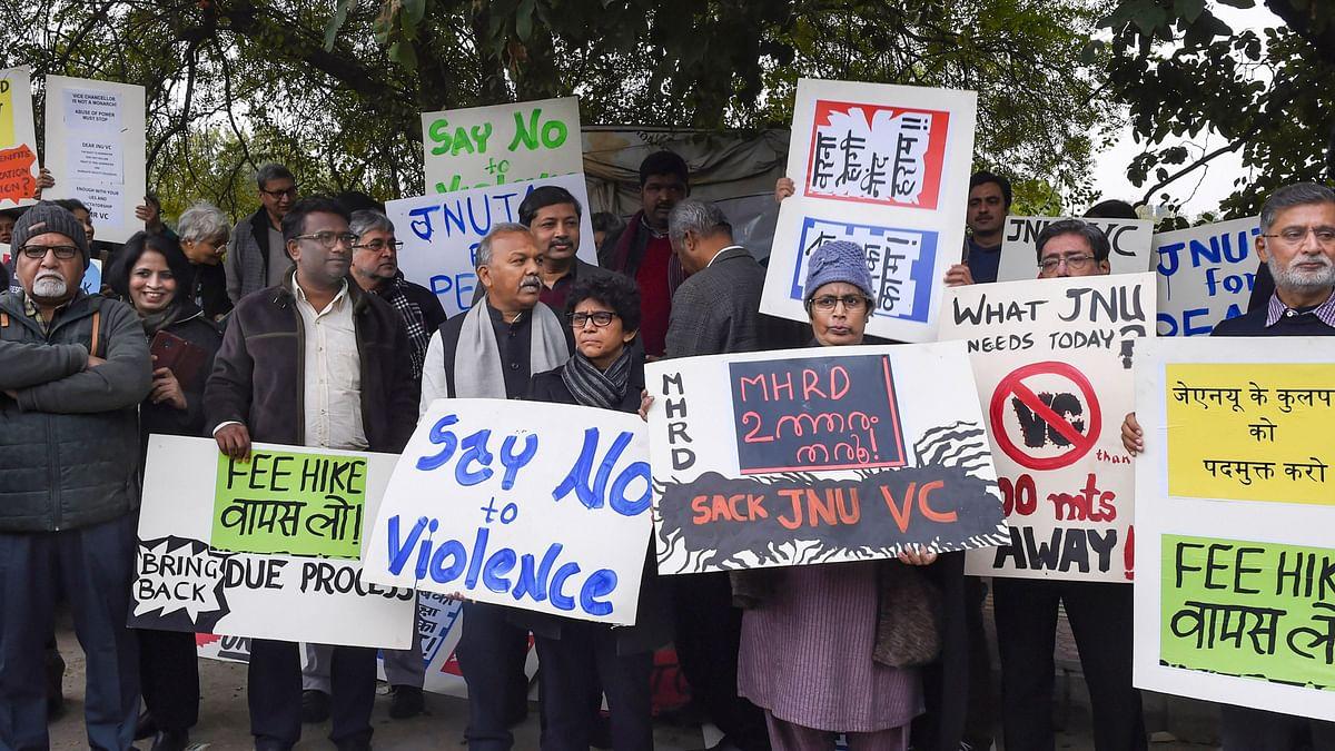 JNU Attack: BJP Ally JD(U) Seeks Removal of V-C, Demands SC Probe
