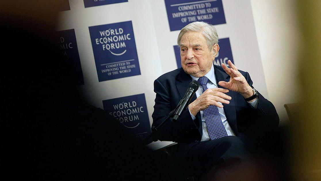 At Davos, George Soros Attacks PM Modi's 'Frightening' Nationalism