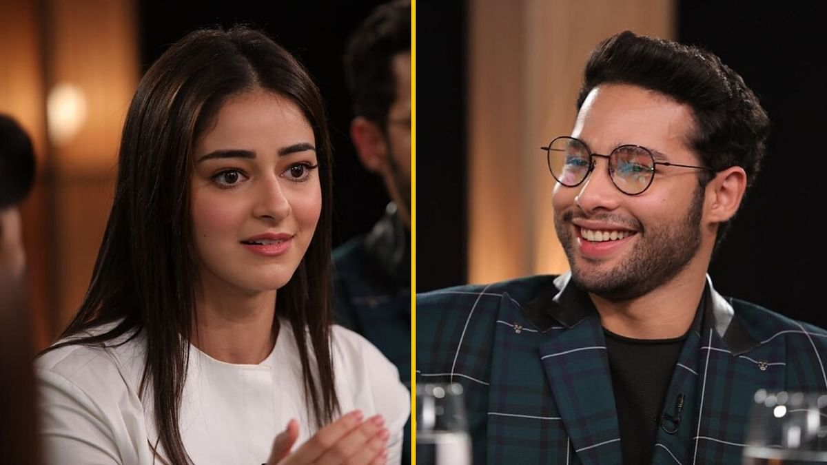Ananya Panday and Siddhant Chaturvedi at the Newcomers Roundtable 2019, hosted by Rajeev Masand.