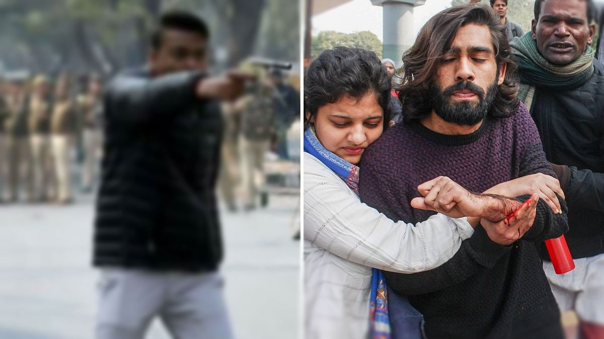 'Ye Lo Azadi': Armed Man Shoots at Protesters in Jamia, 1 Injured