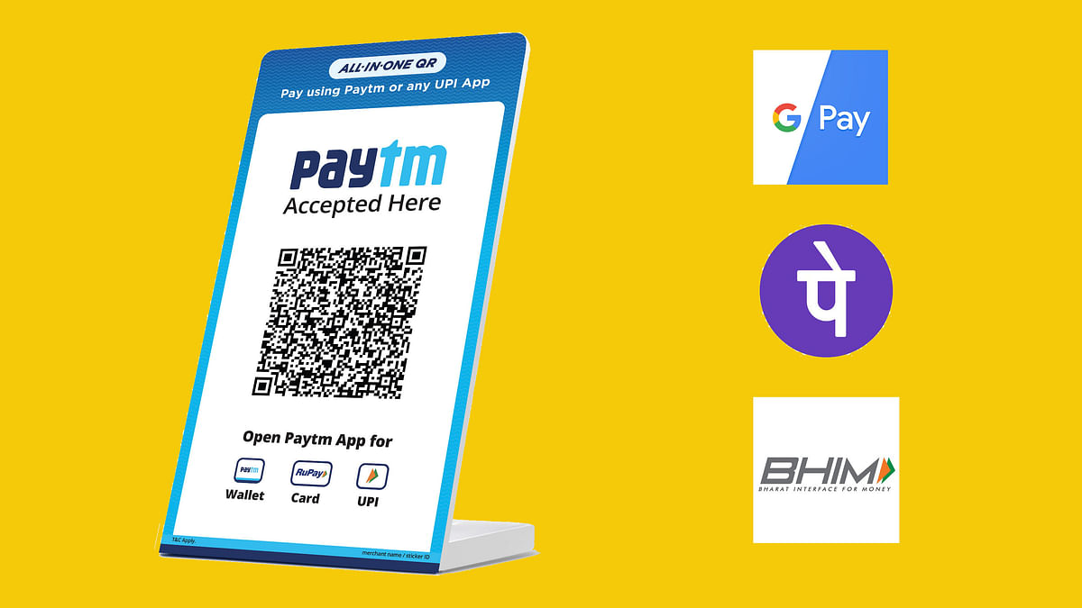 New Paytm QR Code Let's You Send Money To Any Google Pay-Like Apps