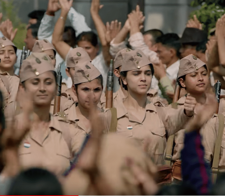 The makers have placed the INA's all female combat regiment at the centre of the show's narrative.