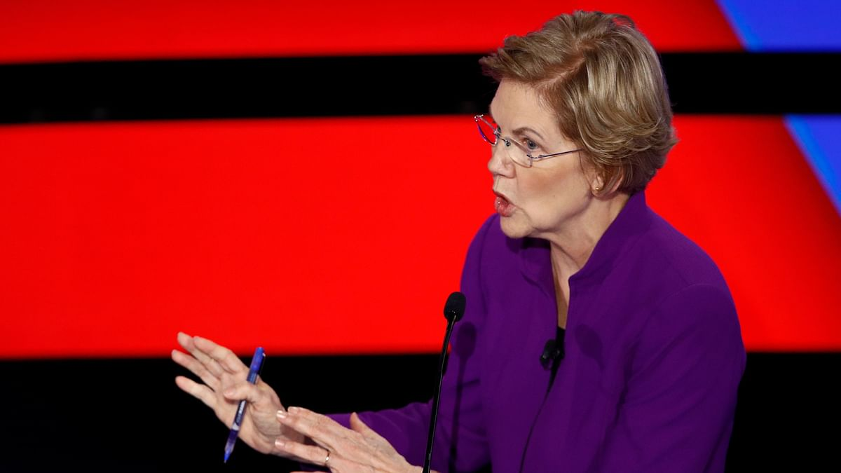 Men on This Stage Have  Lost 10 Polls: Warren at Democratic Debate