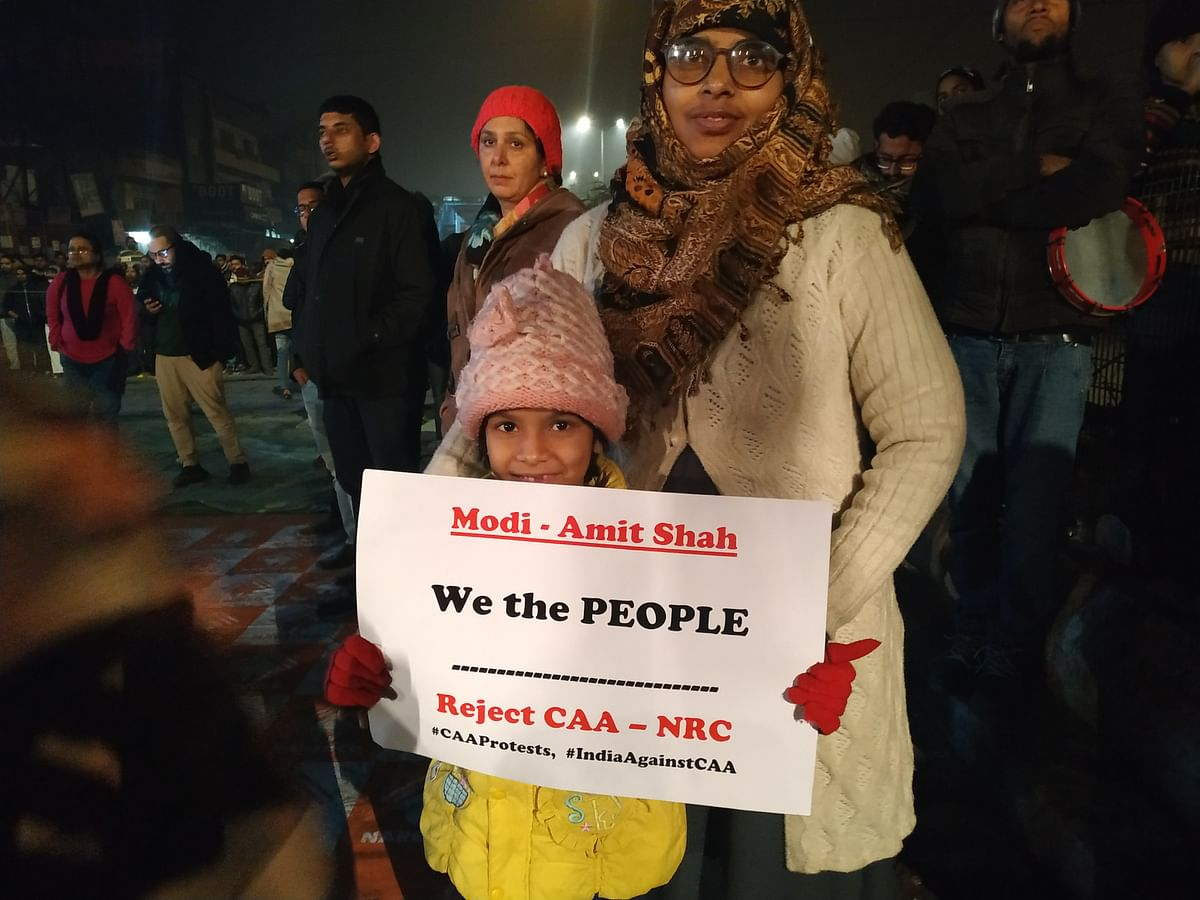In this last month of protests, there have been children running in Shaheen Bagh, calling out 'Hum kya chahte… Azaadi!'