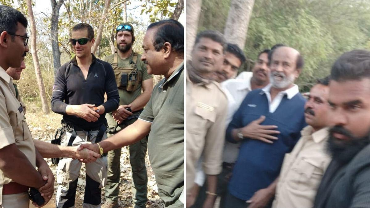 Rajinikanth Gets Injured During 'Man vs Wild' With Bear Grylls