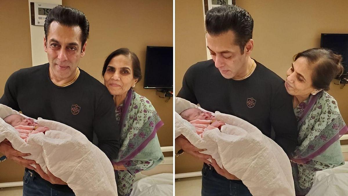 Overwhelmed: Arpita Shares Photo of Salman Holding His Niece Ayat