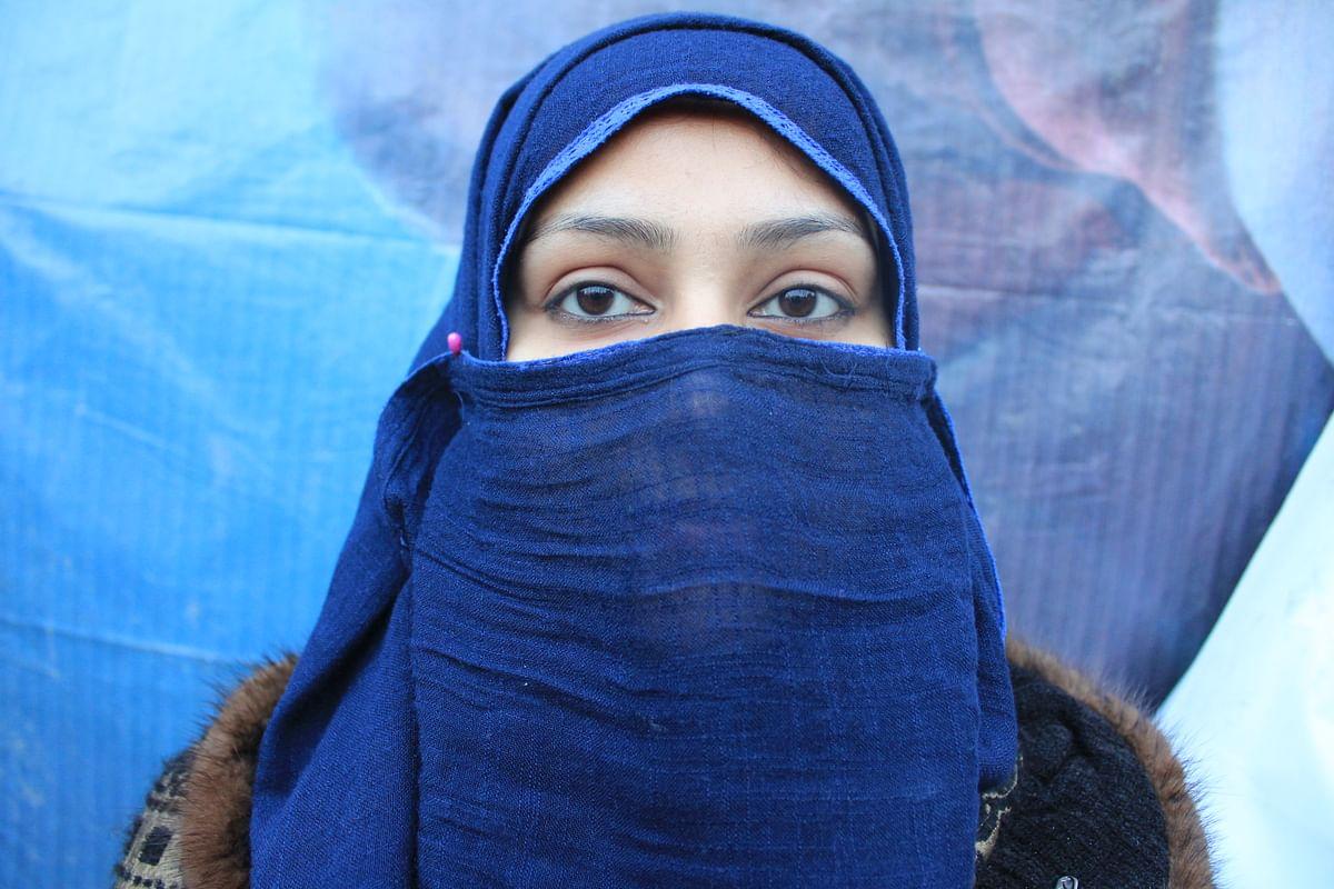 Twenty-eight-year-old Mehnaaz Sheikh, a resident of Khureji.