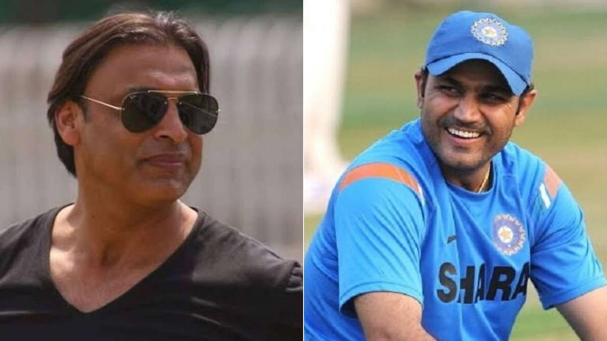 Have More Money Than Hair on Your Head: Shoaib Akhtar Tells Sehwag