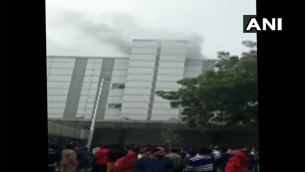 Fire Breaks out at Noida's ESIC Hospital, 4 Fire Tenders at Spot
