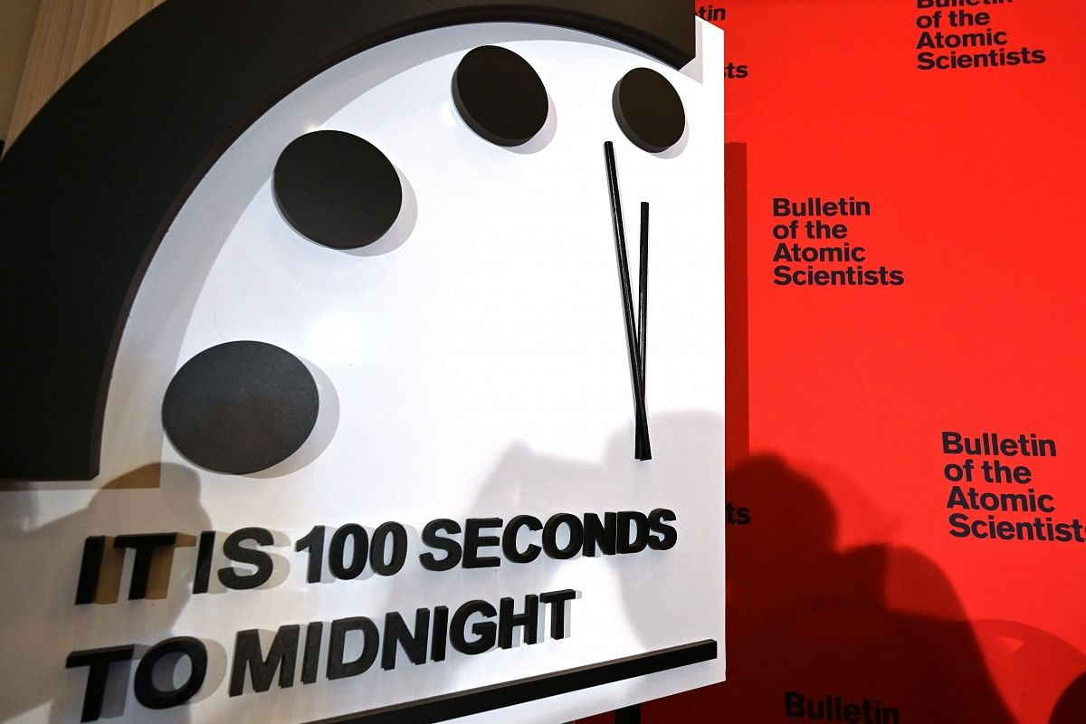 Doomsday Clock Moves Closest to Midnight in 73-Year History