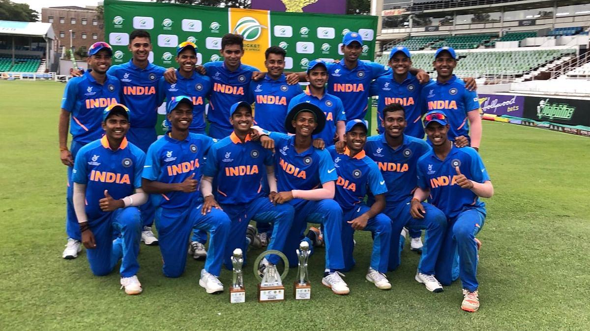 India Under-19 Beat South Africa to Win Quadrangular Series