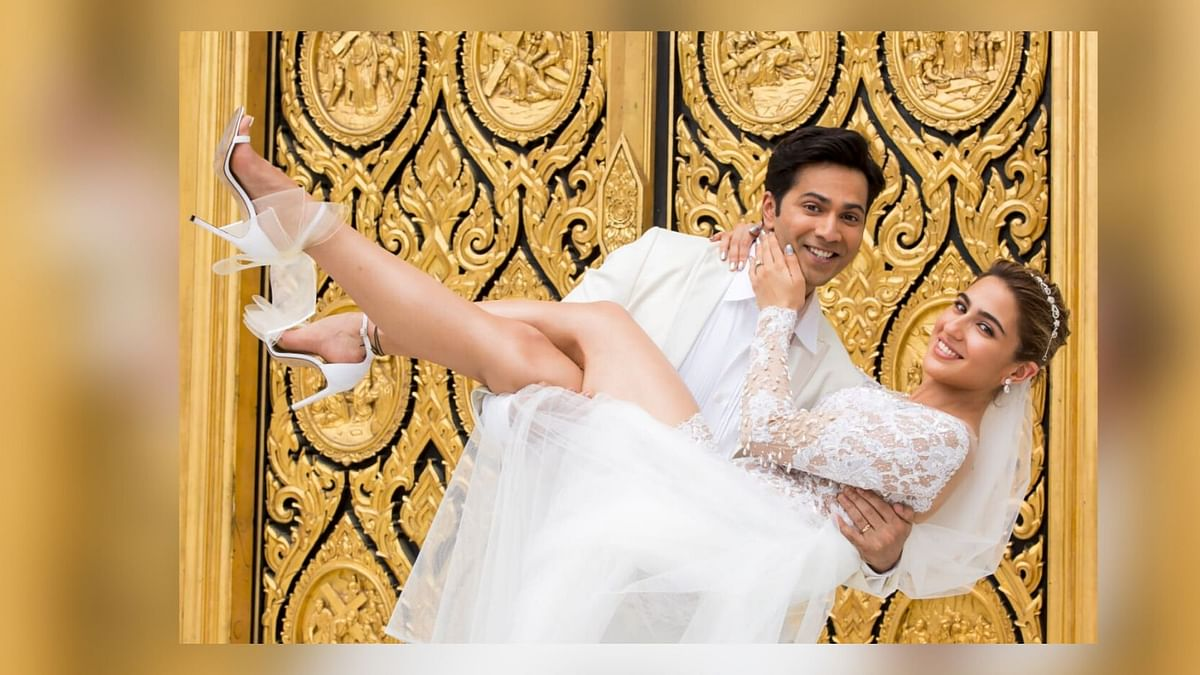 New 'Coolie No 1' Pic: Varun & Sara Look Picture-Perfect in White