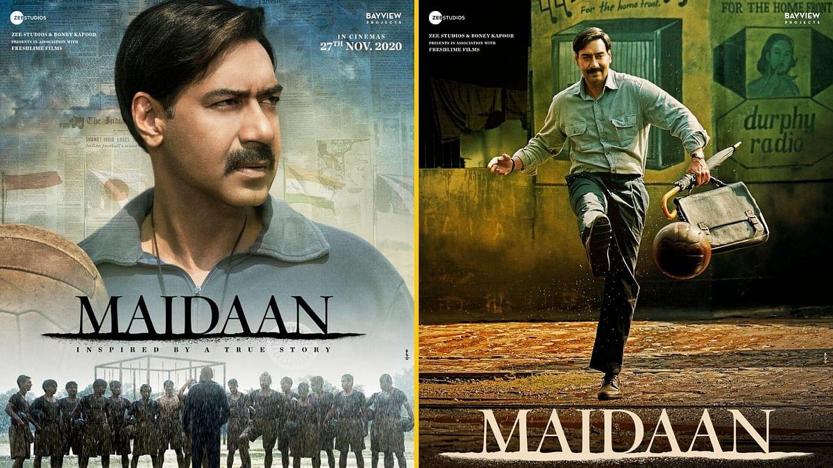 'Maidaan' First Look: Ajay as Football Coach Syed Abdul Rahim