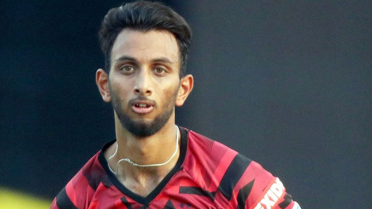 Currently, Prasidh is recovering from an injury and has not played for Karnataka since a 50-over match against Puducherry in October 2019.
