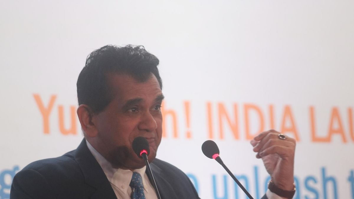 'Unending Love for Amazon': RSS Economic Wing Targets Amitabh Kant
