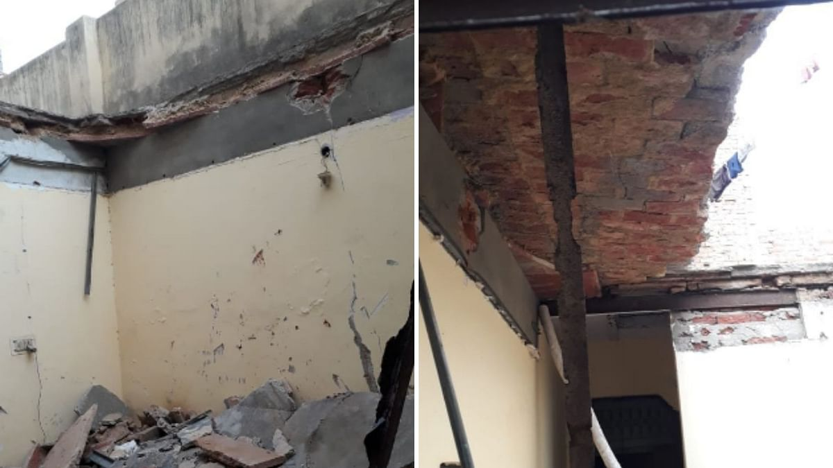 At least one person was reported dead after the roof of a building collapsed in Delhi's Uttam Nagar on Saturday, 4 January.