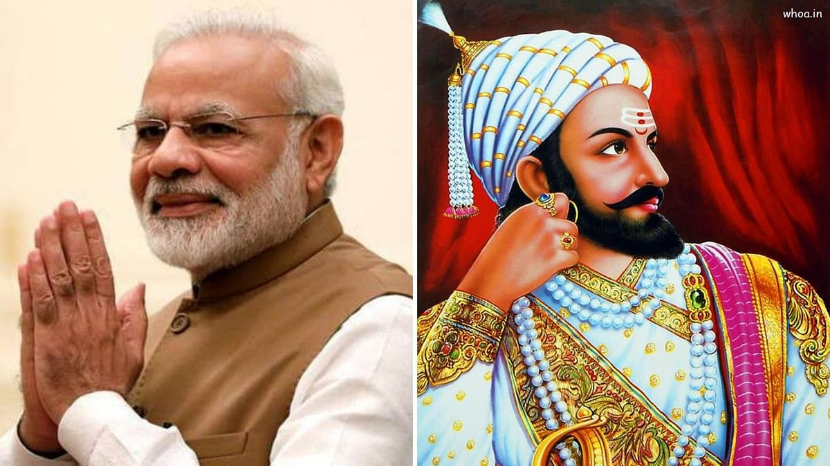 The book titled 'Aaj ke Shivaji: Narendra Modi' has faced severe backlash from the Shiv Sena, NCP and Congress.