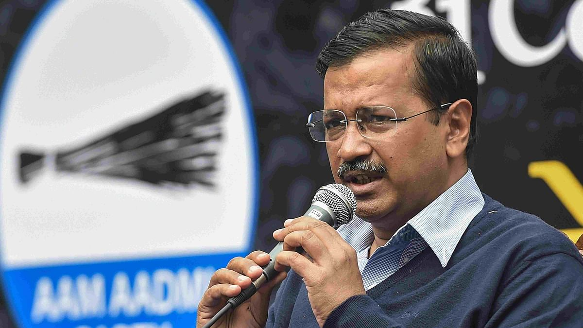 We're Giving Pens to Kids, They're Giving Guns: Kejriwal Slams BJP