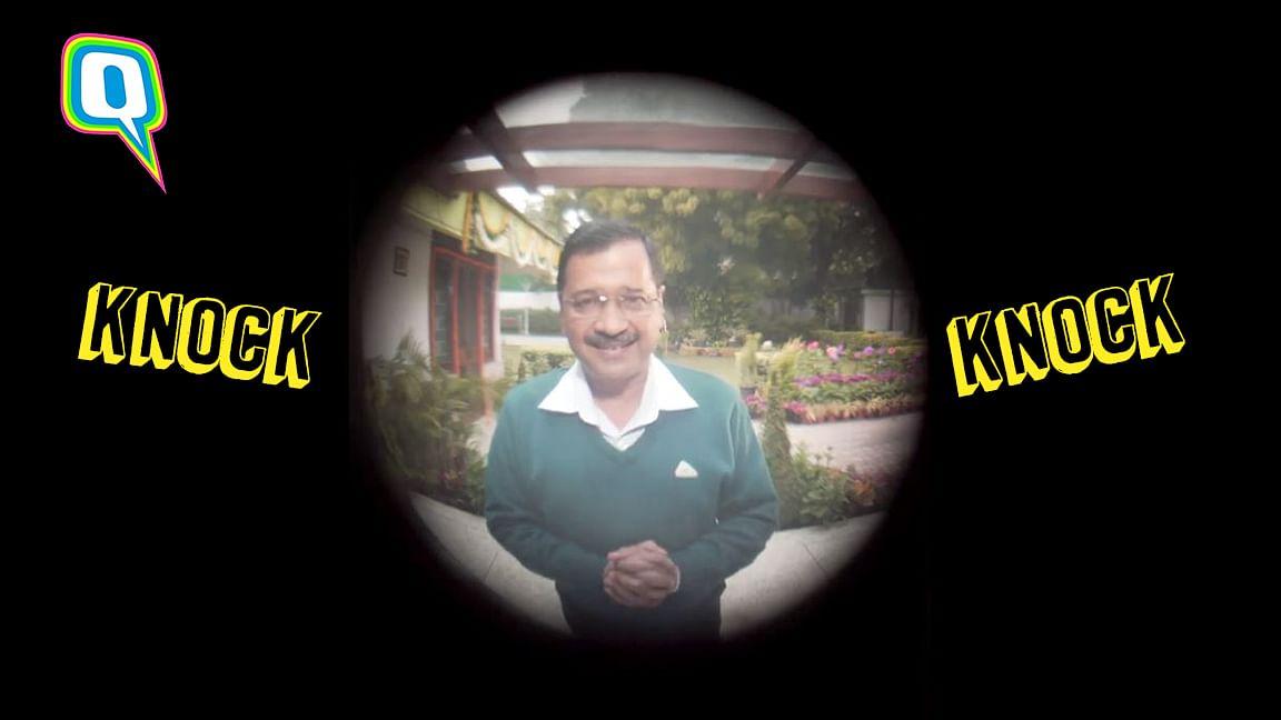 A screengrab from Arvind Kejriwal's interactive website