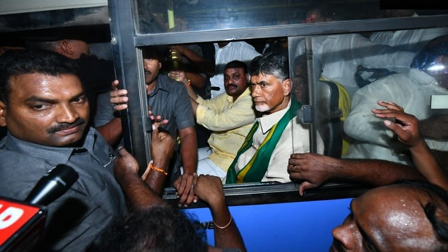Andhra Capital Row: Ex-CM Chandrababu Naidu Detained Amid Protests