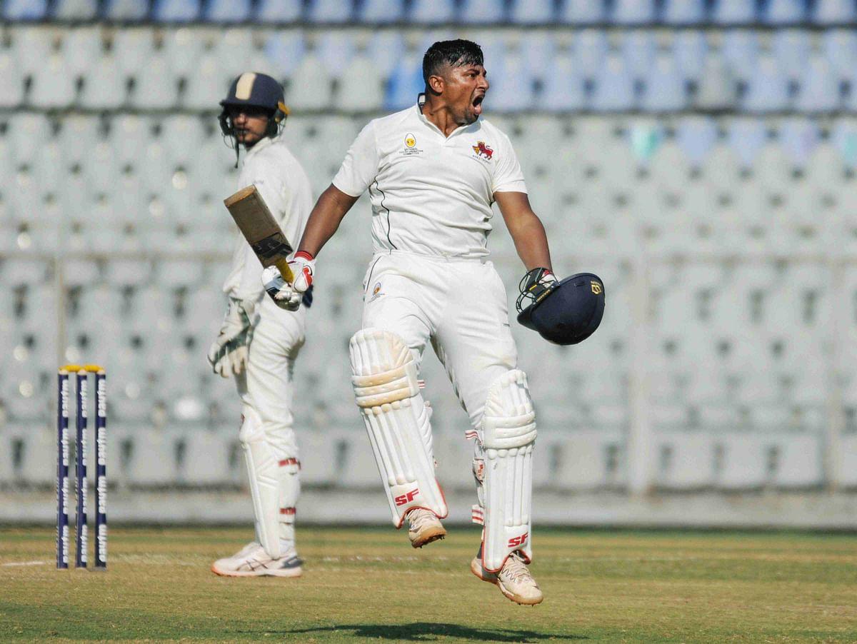 Sarfaraz Khan's triple hundred against Uttar Pradesh was laced with 30 boundaries and eight sixes.