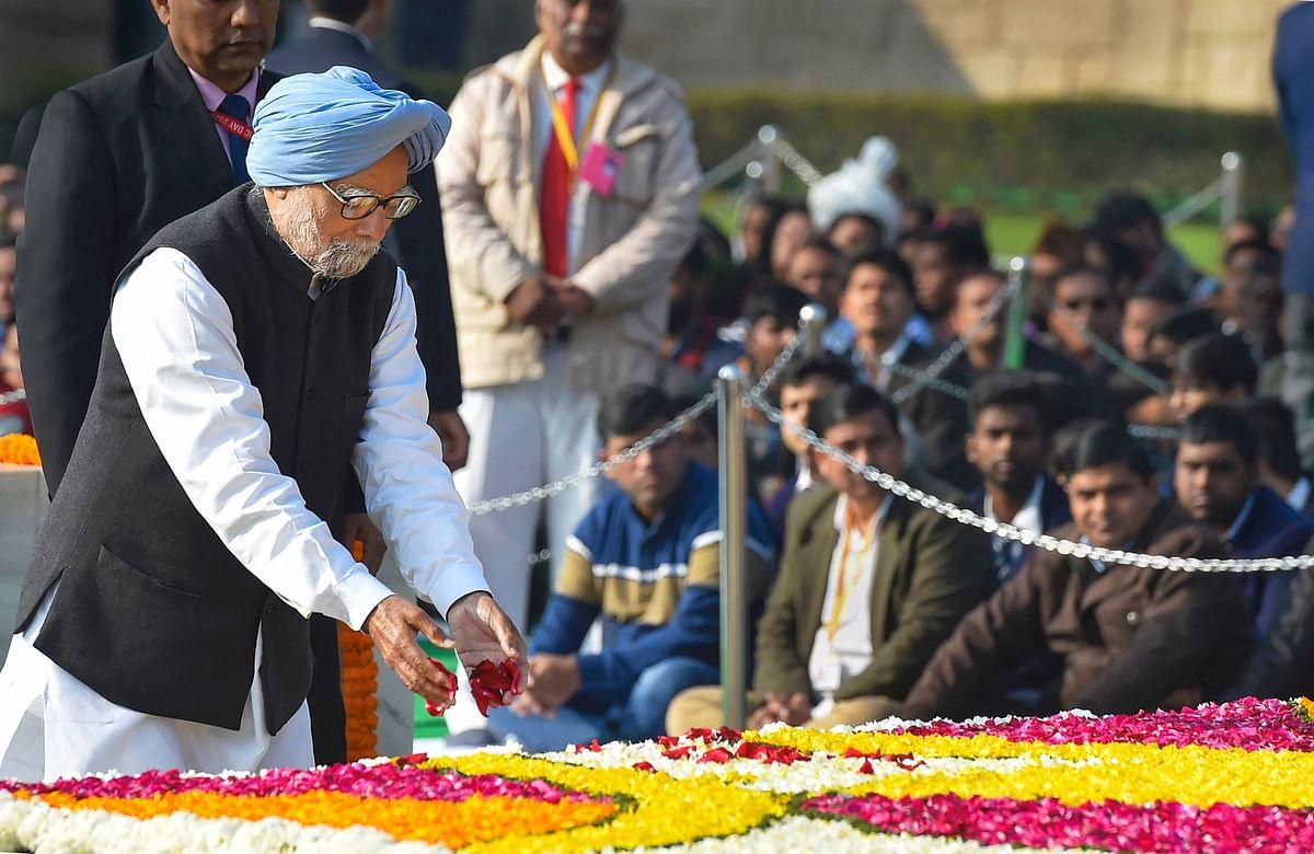 Former Prime Minister Manmohan Singh.