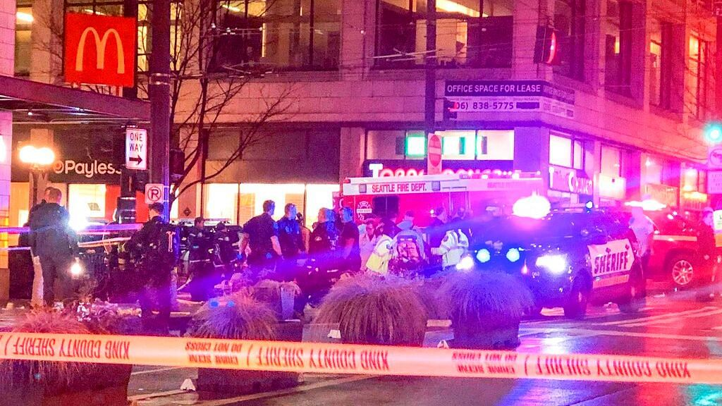 Five Injured, One Dead in Shooting at Downtown Seattle: Police