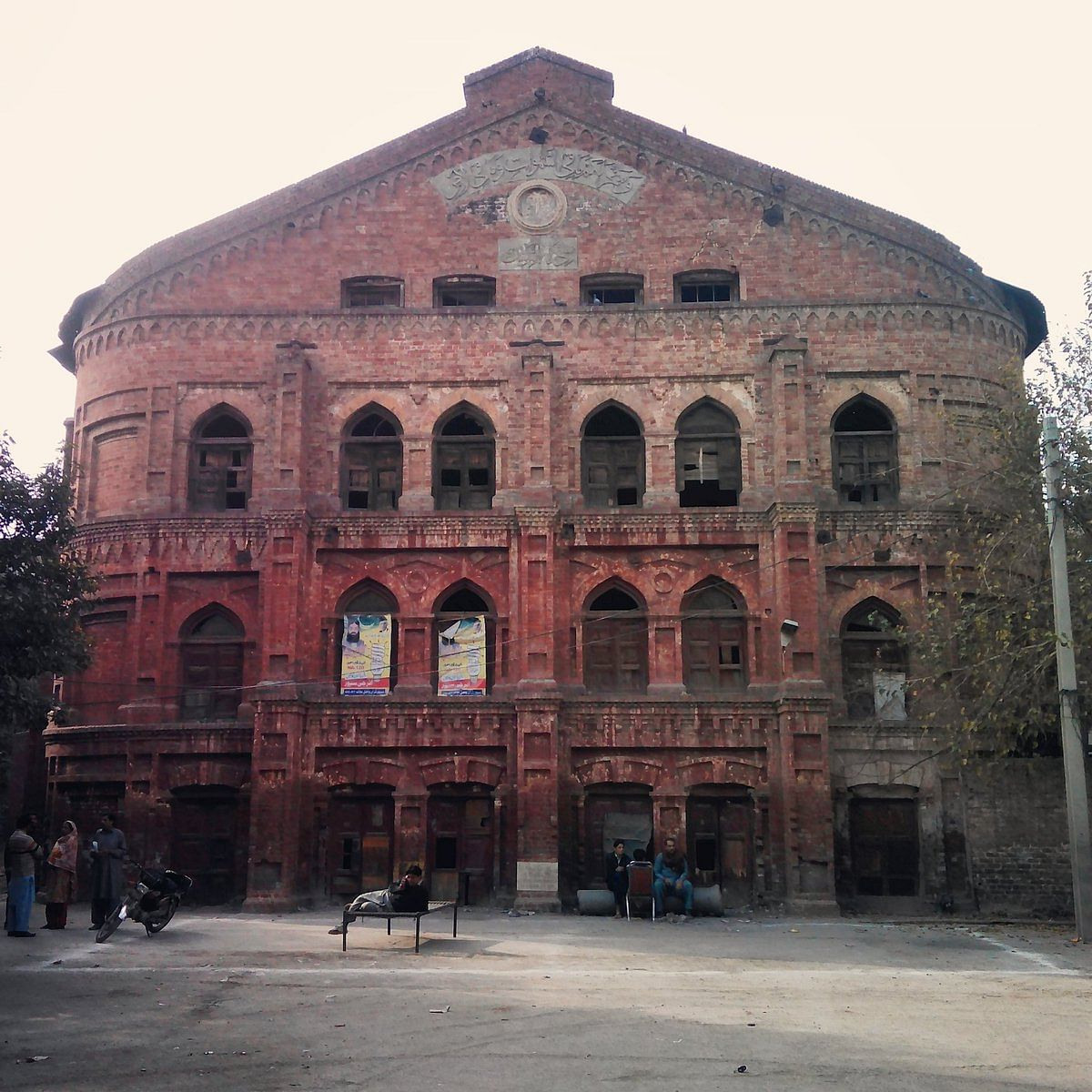 Bradlaugh Hall in Lahore, which housed the National College founded by Lala Lajpat Rai