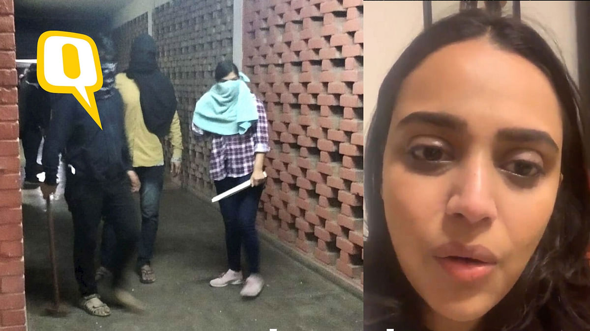 After SOS, Swara Bhasker Says JNU Peaceful Post Attack on Students