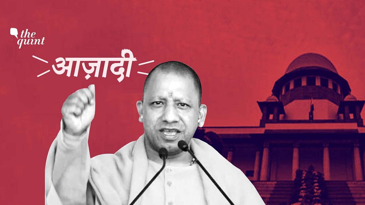 UP CM Yogi Adityanath says raising Azadi slogans would amount to sedition.