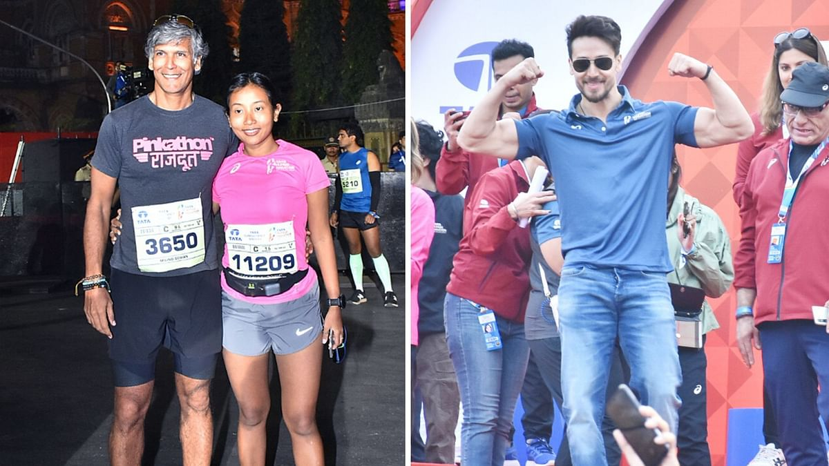 Milind Soman, Rahul Bose, Tiger Shroff Attend Mumbai Marathon 2020