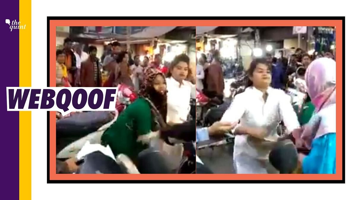 The video which is being circulated with an intend to malign the image of the women protesters is neither recent nor from Shaheen Bagh.