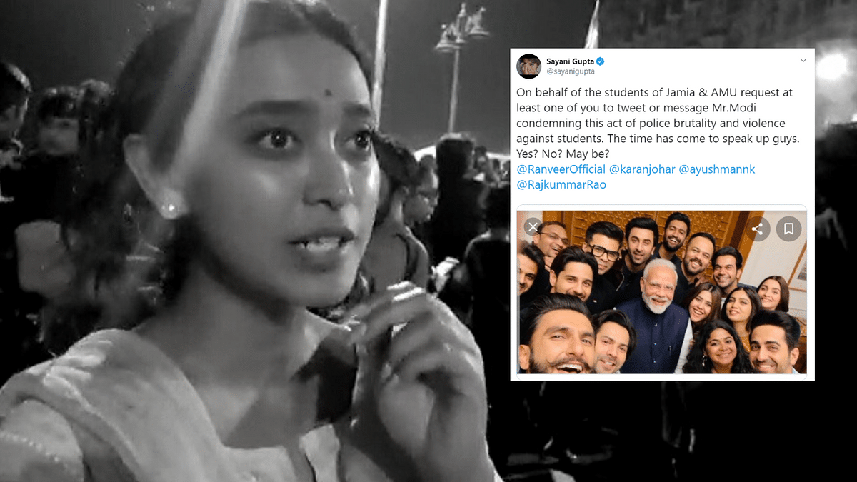 Tweeted to Bollywood in Tears After Violence on Students: Sayani