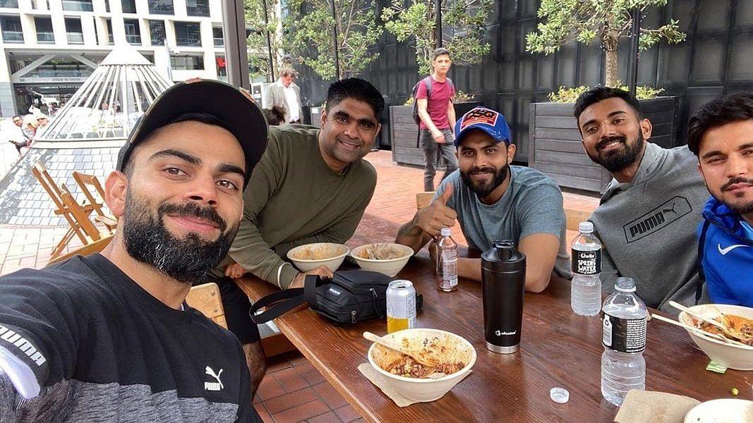 Breakfast of Champions: Kohli, Rahul, Jadeja Have a Happy Meal