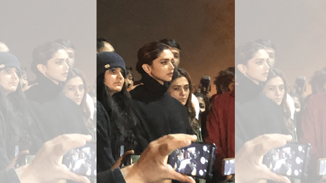 Bollywood actor Deepika Padukone on Tuesday, 7 January 2020 joined a protest rally against the attack that took place on students and teachers of Jawaharlal Nehru University (JNU).