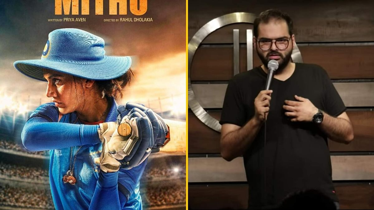 QuickE: Taapsee's Look as Mithali Raj; Airlines Ban Kunal Kamra