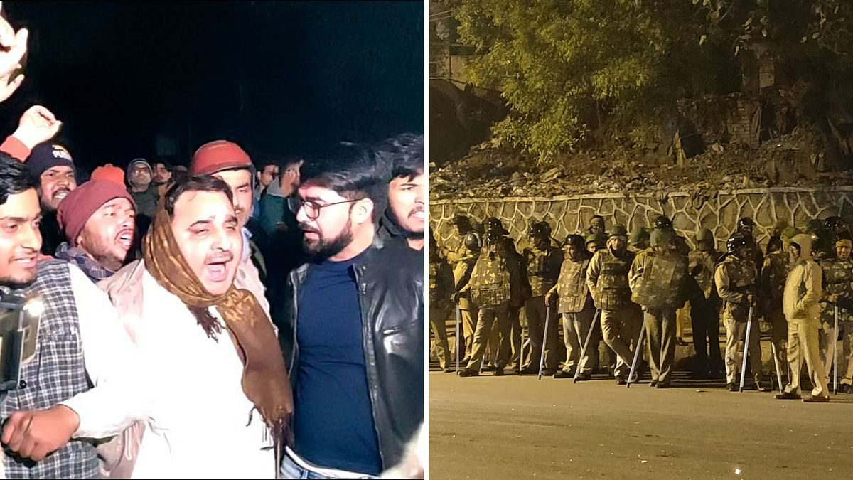 Goons, Planning, Police Complicity: What I Saw at JNU Main Gate