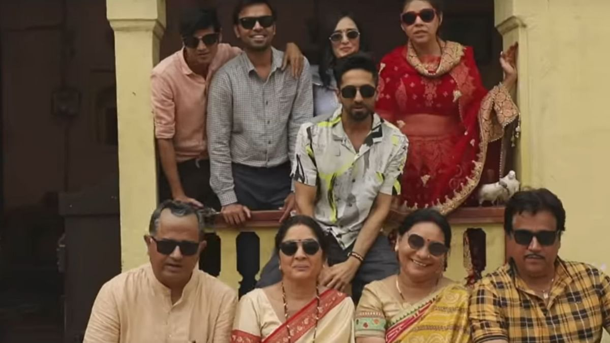 A still from behind the scenes of <i>Shubh Mangal Zyada Saavdhan</i>.